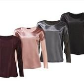 Сток!!! Стильные блузы из Премиум коллекции! 36/38 евро, полномер, цвет на выбор, в описании!