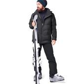 Высокотехнологичные лыжные брюки с утеплением на флисе Tchibo германия размер ХЛ