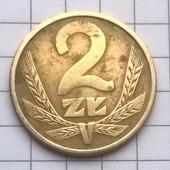 Монета Польши 2 злотых 1986