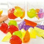 Многоразовый лед Фруктики, набор 12 шт. Охладитель напитков.