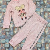 Модный детский спортивный костюм с Лол!!! Размер: 92, 98, 104!!!