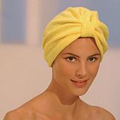 Шапочка из микрофибры для сушки волос и косметических процедур