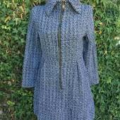 Обалденное,теплое платье-пальто ,в идеале!Модель очень классная !Читайте описание, замеры.