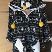 Пончо теплющий пингвин:)