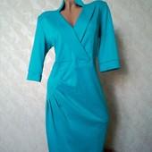Mizz! Красивое платье цвета бирюза