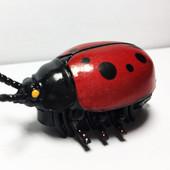 """Насекомое """"Божья коровка"""" на батарейках , мини-робот, интерактивная игрушка """"Crazy insect"""
