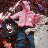 пакет одежі на дівчинку 6-9міс.