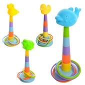 Кольцеброс - очень увлекательная игра для маленького ребенка!