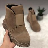 Классные ботинки с утеплением!