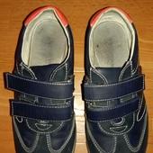 Кроссовки Шалкнишка на мальчика 34 р. (стелька 20 см.) темно синие ТМ Шалунишка