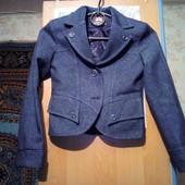 пиджак на девочку в школу замеры в описании