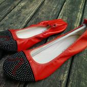 Женские брендовые балетки Abdias(Турция) Есть наложка.