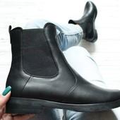 Ботинки челси с натуральной кожи, деми! Распродажа! Размер 39-25,5 см