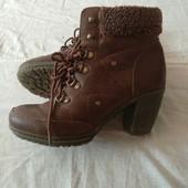 Классные устойчивые ботиночки осень-зима✓Смотрятся стильно✓Стелька 25
