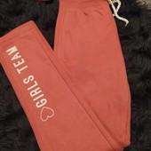 Тёплые спортивные штаны на флисе pepperts 146/152