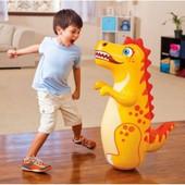 Intex 44669, надувная фигура-неваляшка. Тигр, дельфин, динозаврик.
