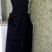 Собираем лоты!! Шикарное платье бюстье с удлиненной спиной, размер 16
