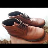 Чоловічі черевики 44 розмір, нові. Натуральна шкіра.