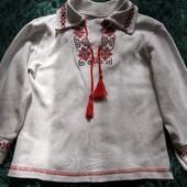 Вышиванка, рубашка 1-3года