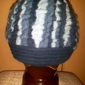 Безумно теплая, двойная и красивая шапочка! Единственна! Читайте описание.