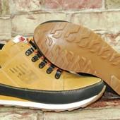 * Зимние ботинки new balance, натуральная кожа/мех. распродажа последних размеров -70%