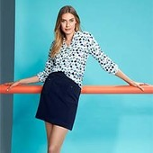 Плотная и качественная юбка с карманами, Tchibo(Германия), размеры: (38 евро) наш 44-46