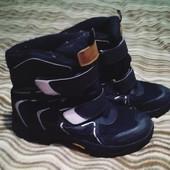 Підліткові термо ботинки в ідеальному стані на хлопчика 36 розмір