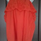 Фирменная новая блуза с открытыми плечами р. 18-22