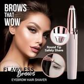 Женский триммер Flawless Brows для бровей Розовое золото