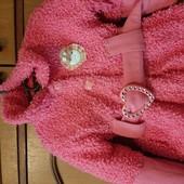 Рожеве демо пальто