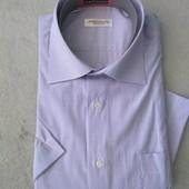 Рубашка, короткий рукав, ворот 40