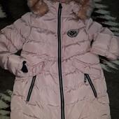 Пальто Курточка зима 140-146! Состояние отличное!