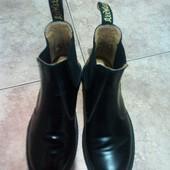 Ботинки осенние челси Доктор Мартинс, б/у, состояние 5+++. 37 размер.