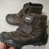 Шкіра! Класні демі черевики Richter Sympatex в дуже гарному стані. Можна носити до морозів!