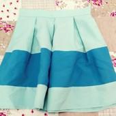 Мятная юбка, шита под заказ