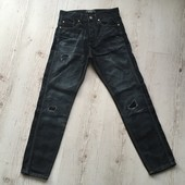 Крутые джинсы размер 28-30! Отличное состояние !