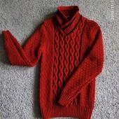 Новый теплый свитер, размер L