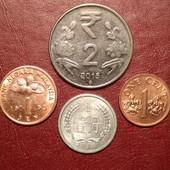 4 монеты одним лотом