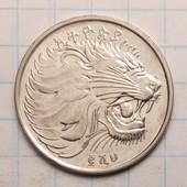 Эфиопия 25 сантимов, 2008 год Федеративная Демократическая Республика