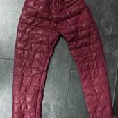 Детские, зимние штаны болонь+синтепон+флис! 2-3 года! См.замеры!