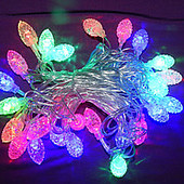 Гирлянда светодиодная шишки LED мульти 4,5 метров.+ скидка на доставку укр почтой