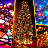 Електрическая гирлянда на 200 лампочек,цвет мультик,8 режимов мганния.
