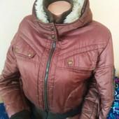 Куртка зимняя женская 46-48 разм. Смотрите замеры!