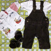 Комплект для малыша!от 3-6 месяцев.Пакет вещей.