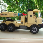 Конструктор лего брик - военная машина