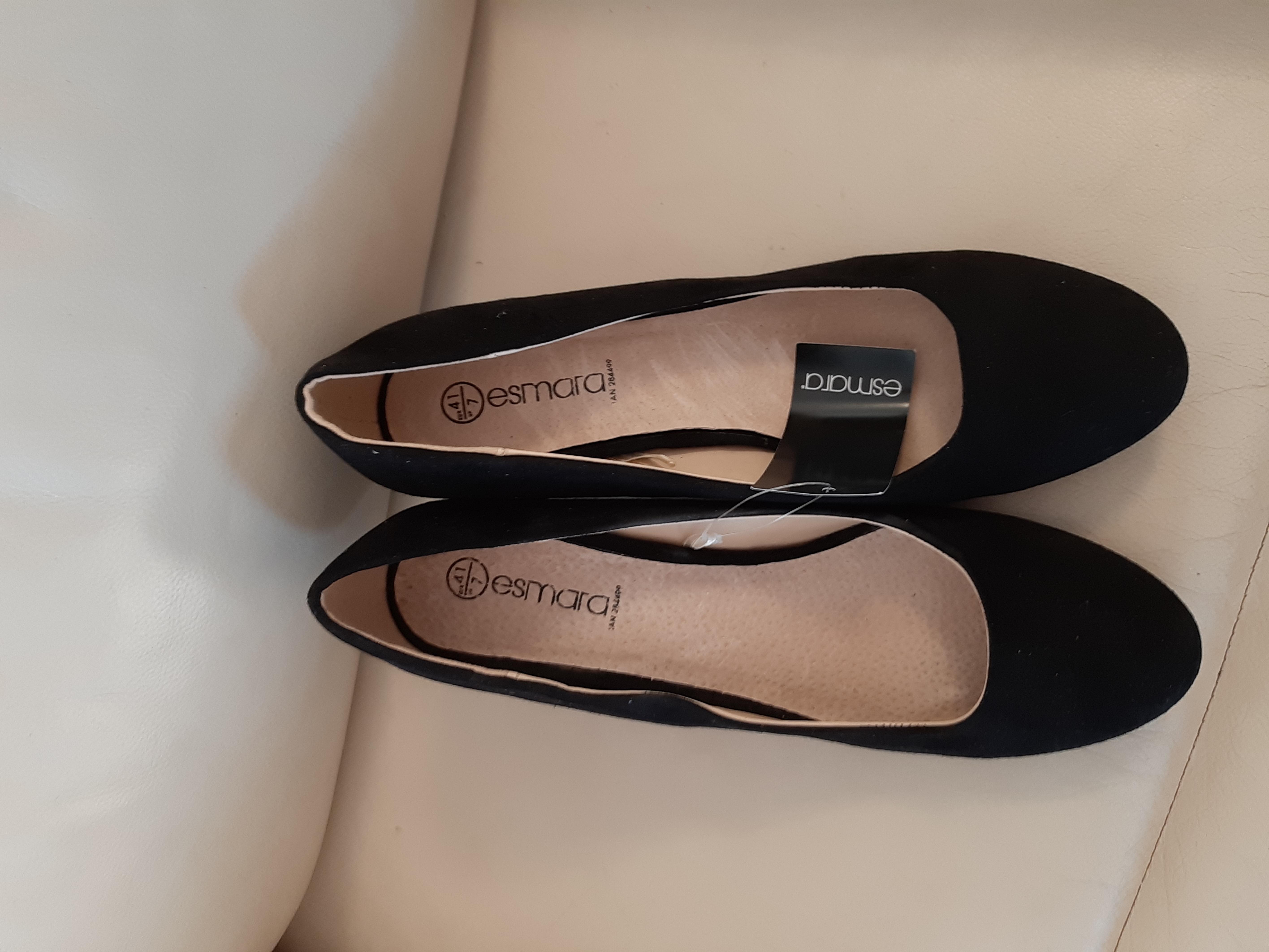 Шикарные туфли фирменые Esmara Германия внутри натуральная кожа!! эккозамш р евро 40 - Фото №2