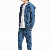 Супер качество! Спортивные брюки H&M 8-9лет(134см)