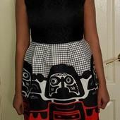 Новые платья модного кроя колокольчик размера xs-s