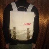 Классный Рюкзак из мешковины Новый