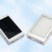 Power Bank 90000mAh зарядное устройство.фонарик. солнечная панель